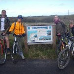 sponsored cycle ride from North to South Devon