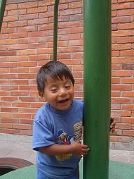 Josue playing