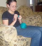 Belen crocheting
