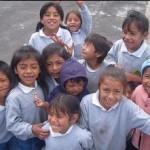 children from Loma Grande school
