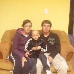 mateo and his parents, april 11
